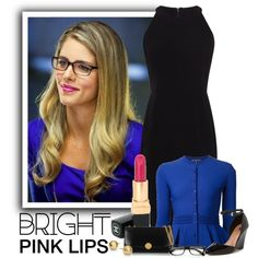 Felicity Smoak by ameve on Polyvore featuring polyvore, fashion, style, Karen Millen, Alexander McQueen, Ava & Aiden, Marc Jacobs, Blue Nile and Chanel
