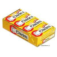 Chiclets Peppermint Gum - 20 boxes