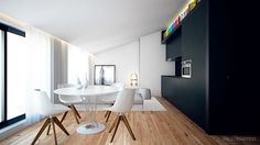 SS APARTMENT by Paulo Martins, via Behance