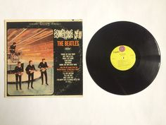 The Beatles - Something New_Vinyl Record LP (ST-2108)