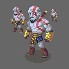 ArtStation - Kratos, Hendry Roesly
