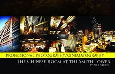 ALEX STUDIO PHOTOGRAPHY AND CINEMATOGRAPHY Maternity, Newborn, Head shot, Fashion portfolio Destination Wedding- Worldwide Travel Please contact us at 425.883.6800 http://www.alexphotography.com  info@alexphotography.com The Chinese Room at the Smith Tower