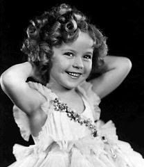Shirley Temple, I  may not know a lot about old movie stars, or movies, but I do know about this amazing little star back in the day. She is amazing!
