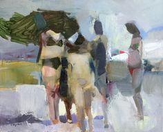 """Pleasure trip"", oil on canvas, 45x55 cm,"