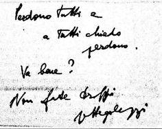 Lettera di addio di Cesare Pavese