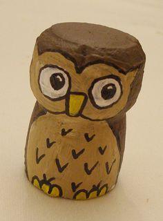 owl cork <3   making this