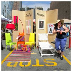 DOWNTOWN FLEA / held in 4 open air parking lots / 246 S. Spring Street / last Sunday of each month / 10am-4pm / Entry is $5.