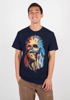 Poly Chewbacca Portrait T-Shirt