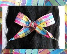 Etsy :: Your place to buy and sell all things handmade Thing 1, Ribbon Hair Bows, Bad Hair Day, Hair Ties, Girl Hairstyles, Boho Chic, Women Jewelry, Hair Accessories, Handmade