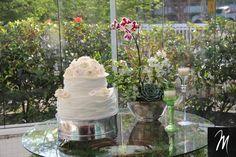 mesa de bolo cerimonia civil