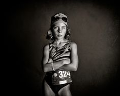 These are STUNNING.  I love this series showing girls doing what they love and breaking down stereotypes. Strong is the new pretty: Photos show the secret side of girls | BabyCenter Blog