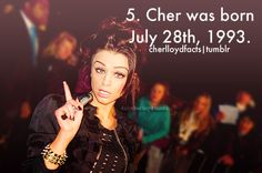 Facts about Cher Lloyd (y)