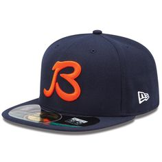 New Era Chicago Bears  B  Men s On Field 59 Fifty Football Structured  Fitted Hat df999b8c6ff