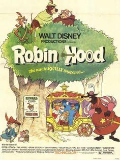 ROBIN HOOD - WALT DISNEY