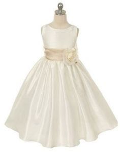sz 2 Brand New Flower Girl Dress  Ivory with by FancyKidsBoutique, $39.99