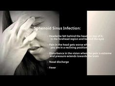 Symptoms Of A Sinus Infection - YouTube
