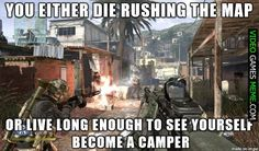 Every time I play Call of Duty - http://www.videogamesmeme.com/memes/every-time-i-play-call-of-duty-2/