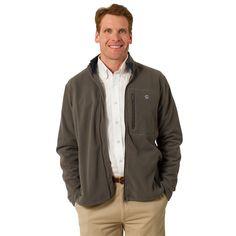 Tidal Fleece Jacket in Smoke by Castaway Clothing #$100-to-$200