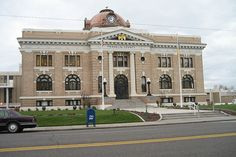 Franklin County, Washington Courthouse by djcn0te, via Flickr  It was named for Benjamin Franklin.
