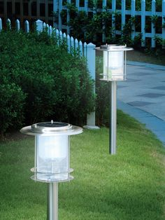 Architect Solar Path Light by BTR Lighting at Gilt Outdoor Solar Lamps, Outdoor Lighting, Outdoor Decor, Sidewalk Lighting, Solar Path Lights, Lantern String Lights, Landscape Lighting, Garden Furniture, Exterior Design
