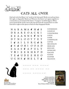 Spiderwick - Cats All Over