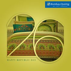 Freedom in our minds, pride in our hearts! From everyone at Bombay Dyeing, we wish you all a Happy 68th Republic Day!