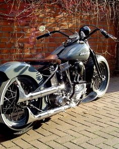 August 2018 at Credit: Bobber Inspiration . As their channel suggests, they have awesome Biker content and we just love t. Harley Softail, Harley Bobber, Harley Bikes, Bobber Chopper, Bagger Motorcycle, Motorcycle Design, Cruiser Motorcycle, Custom Bobber, Custom Harleys