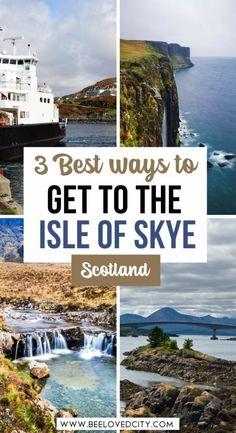 Scotland Vacation, Scotland Road Trip, Scotland Travel, Places In Europe, Europe Destinations, Visit Edinburgh, International Travel Tips, Skye Scotland, Countries To Visit