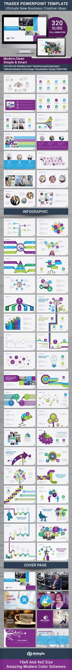Tradex Powerpoint Template #powerpoint #powerpointtemplate #presentation Download: http://graphicriver.net/item/tradex-powerpoint-template/10167617?ref=ksioks