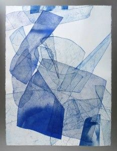 Eben Goff, Batholith Etchings, Aluminum plate monoprints on Rives BFK 22″ x 30″ in welded aluminum frames, 2010-2011