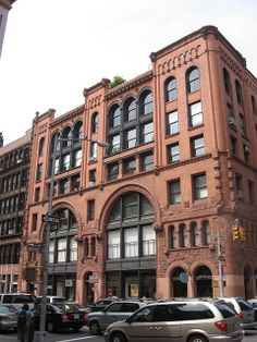 484-90 Broome St., SoHo; this loft building was designed by Alfred Zucker in 1890.