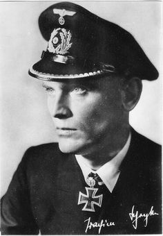 Joachim Schepke (8 March 1912 – 17 March 1941) killed in action by convoy escorts.