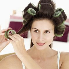 old fashioned hair curlers