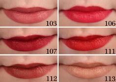 Rimmel Kate Moss Matte Lipstick Rimmel Kate Moss Matte Lipsticks have a beautiful creamy formula that applies easily and smoothly and feels comfortable on the. Rimmel Lipstick, Lipstick Swatches, Lipstick Colors, Matte Lipsticks, Beauty Junkie, Makeup Junkie, Makeup Tips, Beauty Makeup, Rimmel London