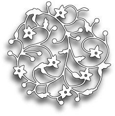 Memory Box Floral Circle - Craft Dies