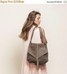 On Sale Leather Shoulder bag Soft leather tote bag Office Bag Casual Bag Messenger bag New Collection! (179.00 USD) by MeitaLev