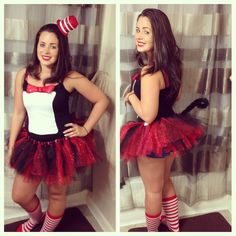 diy cat in the hat costume michelle musialowski hmmm maybe i should do this - Cat In The Hat Halloween Costume Ideas