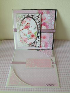 'Birds and Blooms' Easel Card