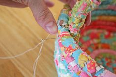 Moda Bake Shop: Fabric Easter basket