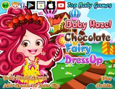 An awesome collection of nice-looking outfits and accessories to try on Baby Hazel for chocolate fairy makeover. Pick the best! http://www.topbabygames.com/baby-hazel-chocolate-fairy-dressup.html