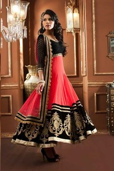 the latest style of anarkali