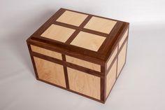 Hand Crafted Jewelry box / Keepsake box by TrueNorthWoodworks, $200.00