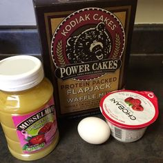 Healthy Snack Muffins | Kodiak Cakes Power Cakes | Yogurt Muffins | Muffins Made with Pancake Mix | Enjoy Your Healthy Life