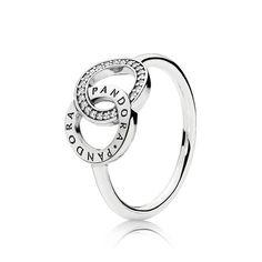 13659b25f PANDORA Circles Ring, Clear CZ Rings Pandora, Pandora Pandora, Pandora  Jewelry, Love