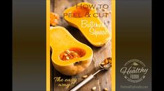 Oven Roasted Butternut Squash How to cut and peel butternut squash the easy way<br> So simple yet so elegant, Oven Roasted Butternut Squash is a tasty and versatile side dish that goes good with just about anything, any time of day! Oven Roasted Butternut Squash, Acorn Squash Recipes, Baked Squash, Spinach Recipes, Vegetable Recipes, Quiche Recipes, Vegetarian Spaghetti, Veggie Side Dishes, Vegetable Dishes