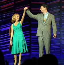 """Kristen Chenoweth and Sean Hayes in """"Promises, Promises"""""""