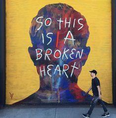 David Walker in Denver, Colorado, USA, 2019 Street Art, Street Mural, Graffiti, David Walker, Dee Dee, Denver Colorado, Neon Signs, Movie Posters, Lp