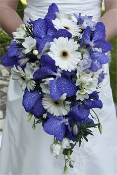 Blue bridal bouquet.... I like it but for me I would have to add more colors