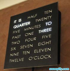 Most Creative Digital Clock