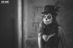 "from the ""Day of the Dead"" album  Styling: Yana Zernitsky MUA: Moran Newman Model: Alina DE"
